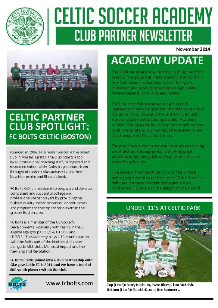 Soccer Newsletter Soccer Newsletter