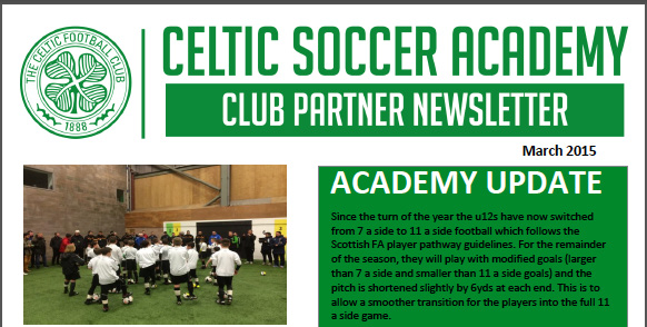 March 2015 Academy Club Newsletter - Florida Celtic Soccer ... Soccer Newsletter