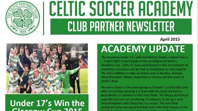 Celtic Partner Newsletter April 2015 - Florida Celtic ... Soccer Newsletter